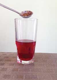 Endulzar el té al gusto