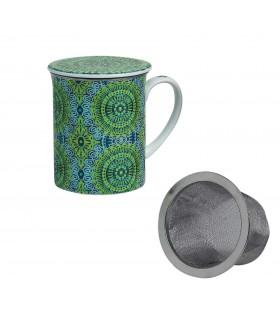 Taza para té con filtro Nanji