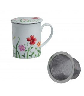 Taza para té con filtro Caprice