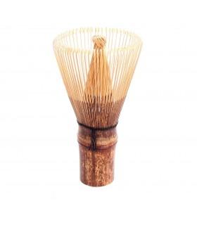 Batidor de bambú negro para té Matcha Premium