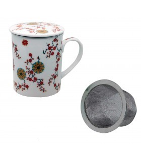 Taza para té con filtro Ava