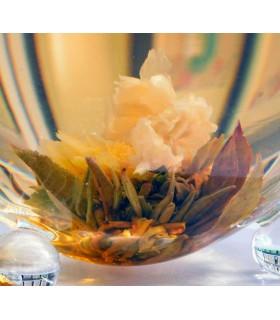 Lata con 10 flores de Té