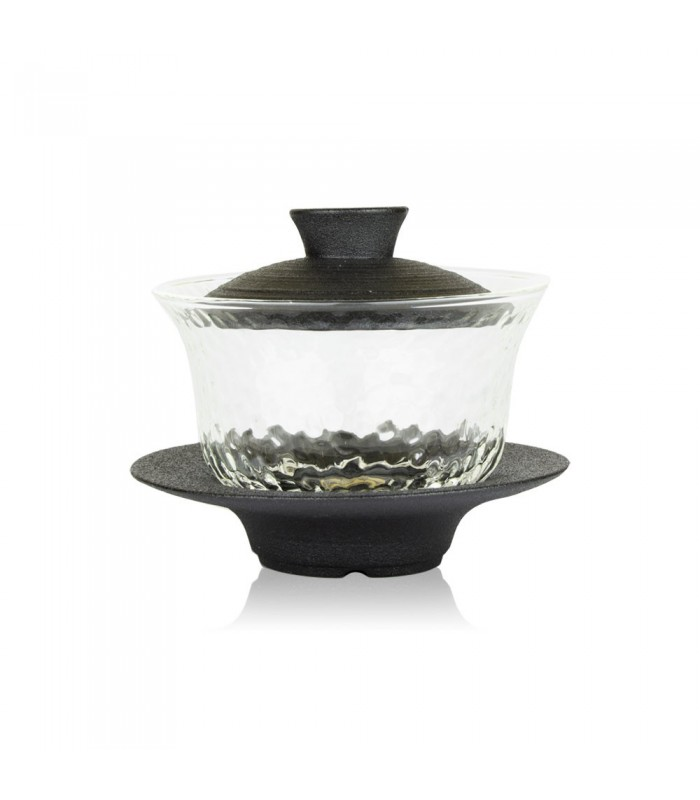 Gaiwan cristal y porcelana