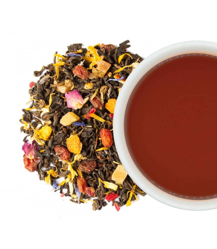 Té Rojo Puerh Fruit Mix