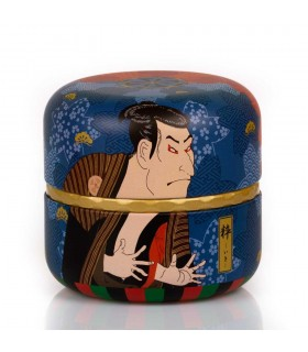 Lata Japonesa para Té Kabuki