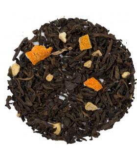 té rojo Pu erh jengibre naranja