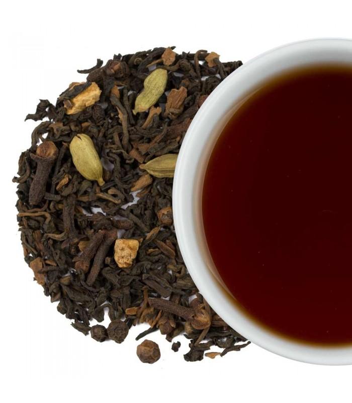 Té rojo pu erh chai