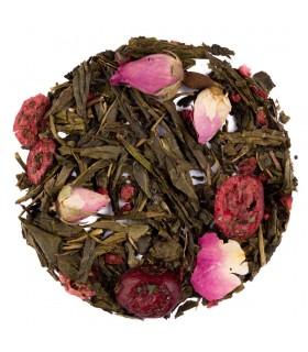 Té verde Rosas y Arándano