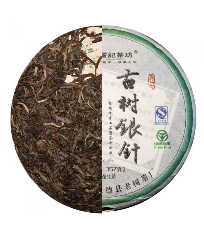 Pu erh Zhaijichafang Raw Ghu Shu Yin Zhen 2014