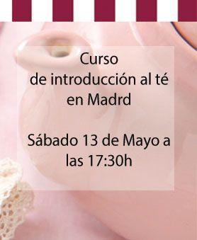 Curso de té en Madrid