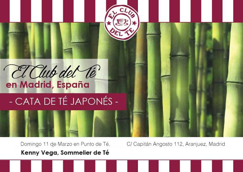 Cata de té Japonés en Madrid