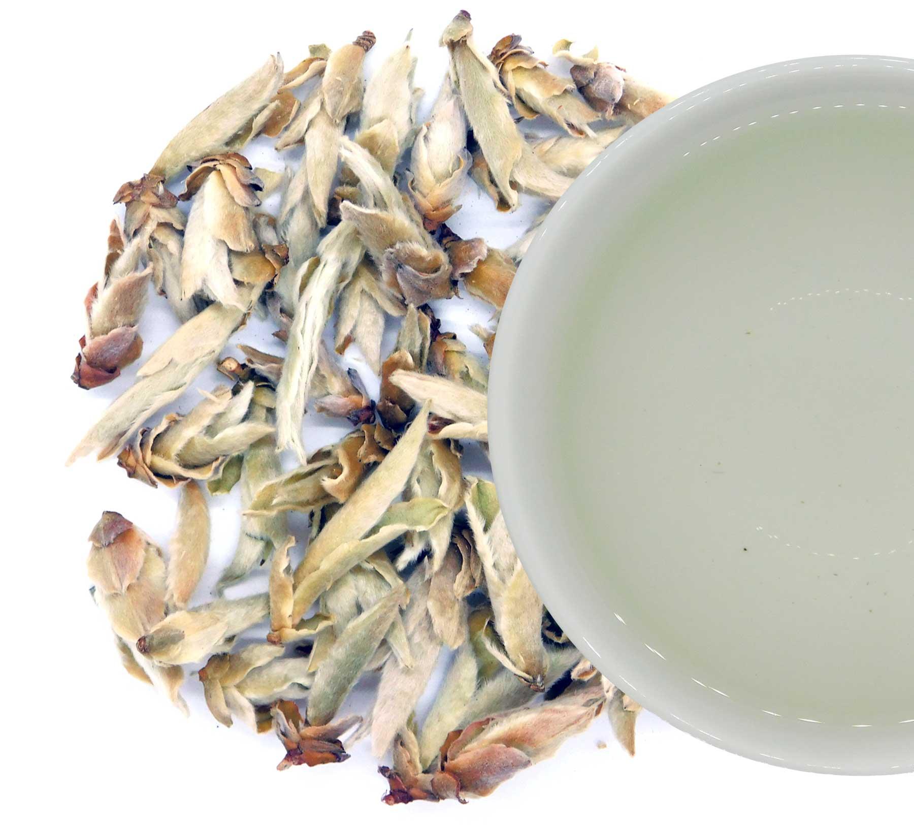 Té blanco de Yunnan