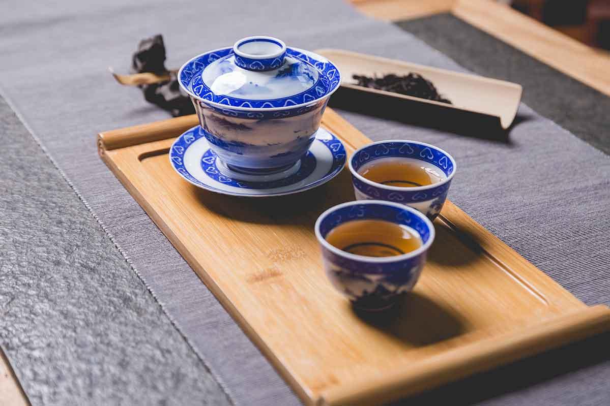 Preparación té Chino