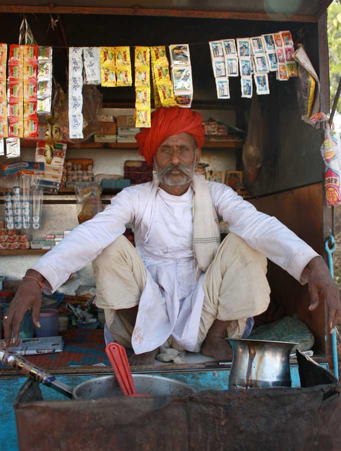 Vendedor de Masala Chai