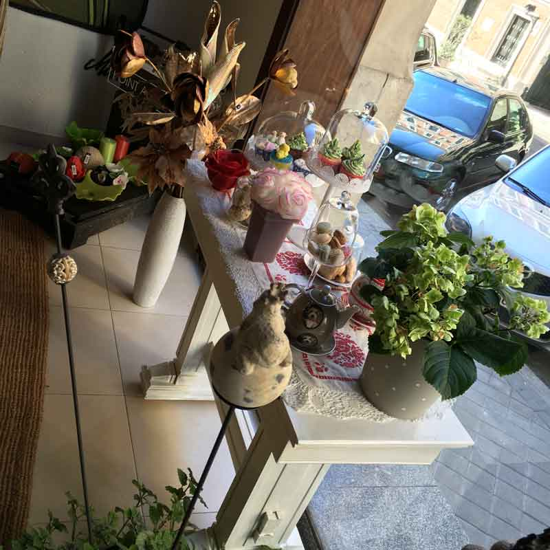 Tetería en Madrid Sucre, entrada