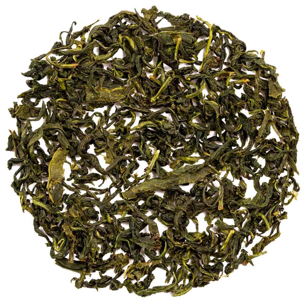 Hojas de té coreano